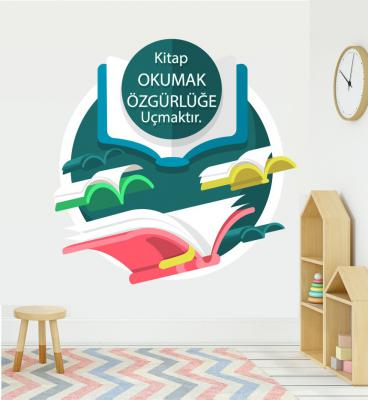 Kitapa Okuma Sticker